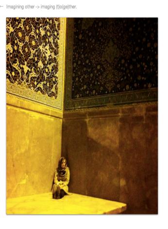 Fieldwork in Esfahan, November 2012